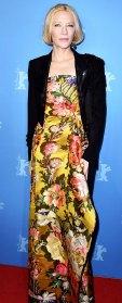 Cate Blanchett Floral Maxidress February 26, 2020