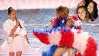 Alex Rodriguez's Daughters Rave About Jennifer Lopez's Daughter Emme's Super Bowl Performance