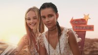 Models Binx Walton and Jean Campbell Reveal Scent and Beauty Secrets