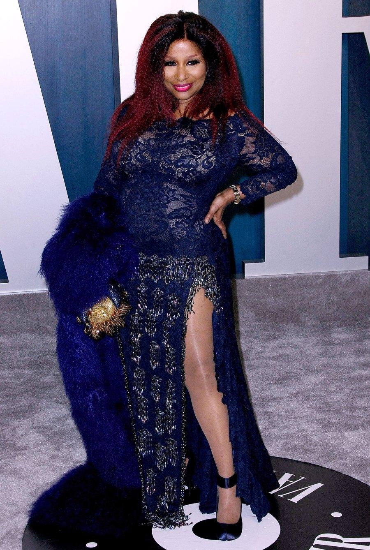 Chaka Kahn Vanity Fair Oscar Party 2020 Hymne national au NBA All-Star Game