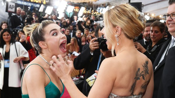 Florence Pugh and Scarlett Johansson Unseen Moments at Oscars 2020