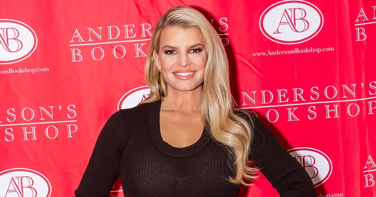 Jessica Simpson Continues Her Book Tour Looking Fabulous