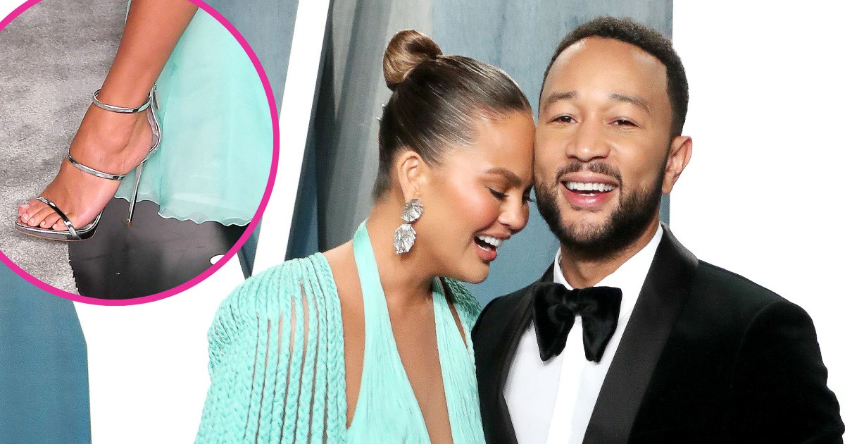 John Legend Pays Tribute to Chrissy's Feet on Valentine's Day