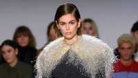 Kaia Gerber Runway London Fashion Week February 17, 2020