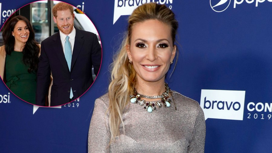 Kate Chastain Quotes Prince Harry and Meghan Markle to Announce 'Below Deck' Exit