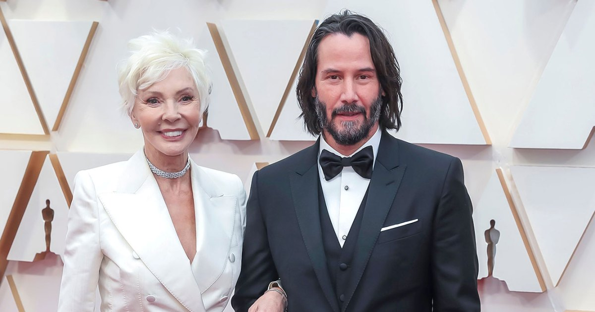 Keanu Reeves Adorably Brings Mom to Oscars: See Red Carpet Pics