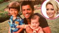 Kelly Ripa Shares Tropical Throwback Snap Mark Consuelos