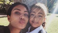 Kim Kardashian and North Selfie Before School