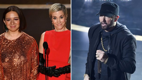 Kristen Wiig and Maya Rudolph's, Eminem More Top Oscars Moments Oscars 2020