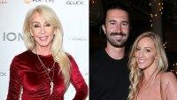 Linda Thompson Brandon Jenner and Ex Leah Felder Are Very Friendly