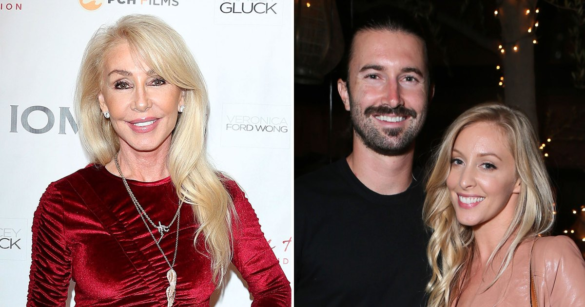 Linda Thompson: Brandon Jenner and Ex-Wife Leah Are 'Very Friendly'