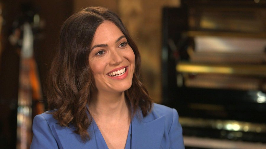 Mandy Moore CBS Sunday Morning Walked Away From Acting
