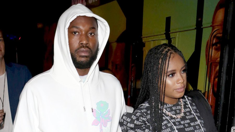 Meek Mill and Milan Rouge Harris Give Birth