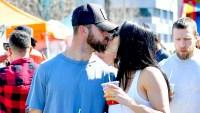 Nikki Bella Kisses Fiance Artem Chigvintsev While Showing Off Baby Bump
