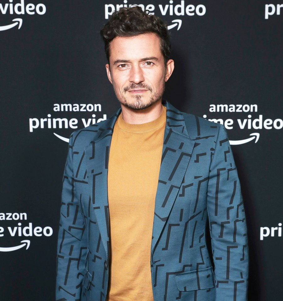 Orlando Bloom at Carnival Row Photocall New Tattoo in Honor of His Son is Spelled Wrong
