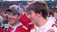 Paul Rudd and Son Jack Celebrate Chiefs' Super Bowl 2020 Win