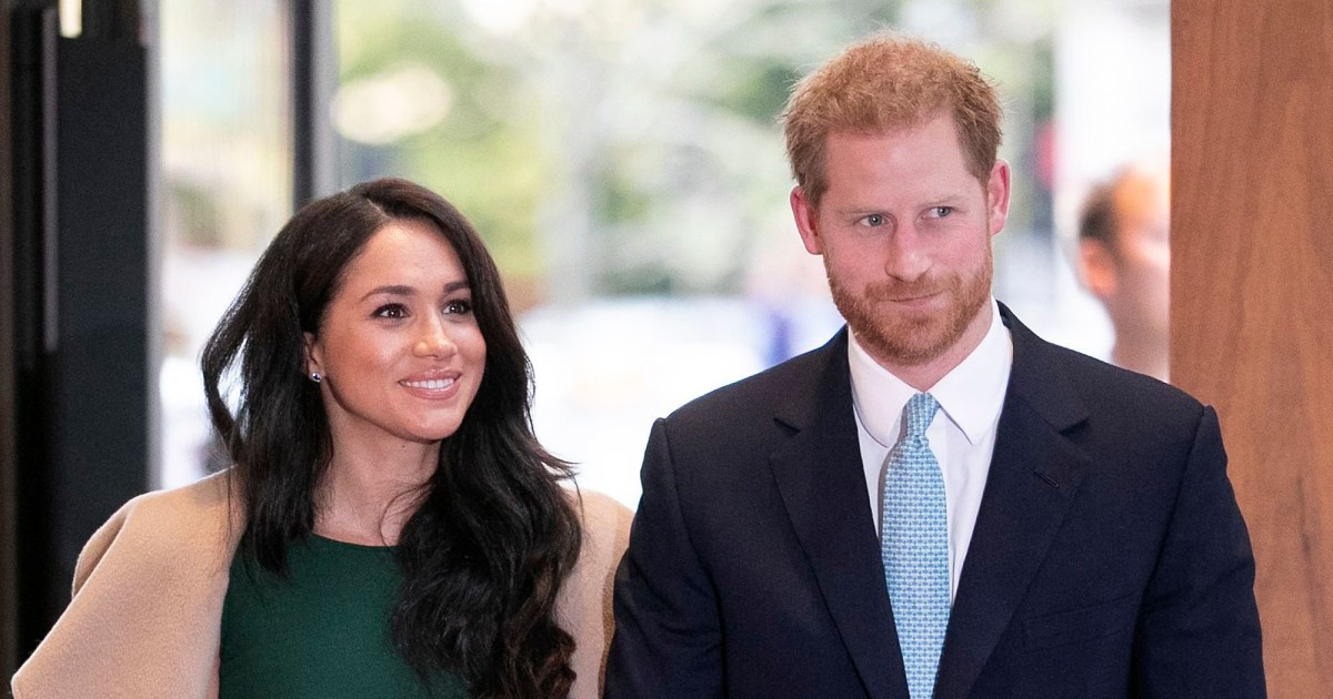 Prince Harry, Meghan Markle Spotted Together for the 1st Time Since Royal Exit