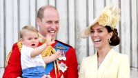 Prince William, Catherine Duchess of Cambridge, Prince Louis, Prince George and Princess Charlotte Trooping the Colour ceremony, London, UK - 08 Jun 2019