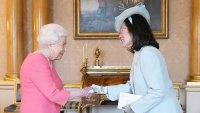 Queen Elizabeth Coral Dress February 27, 2020