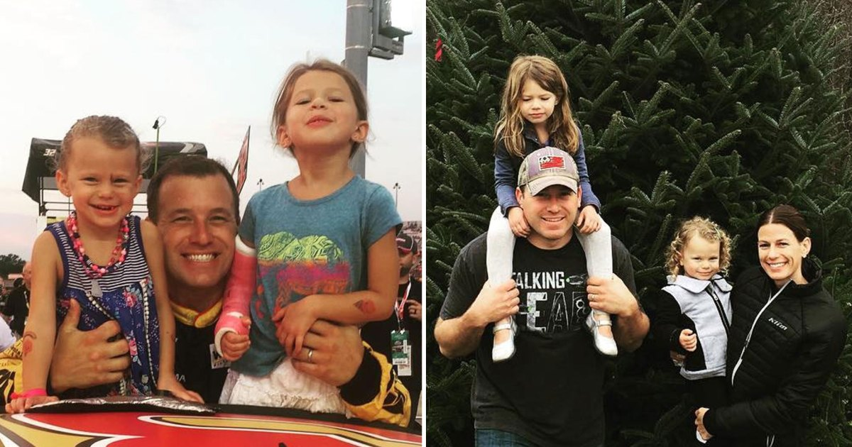 Relive NASCAR Driver Ryan Newman's Sweetest Moments With His Family