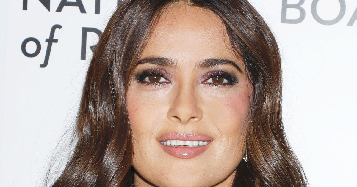 Salma Hayek Claps Back at Critic Who Says She Has 'Too Much Botox'