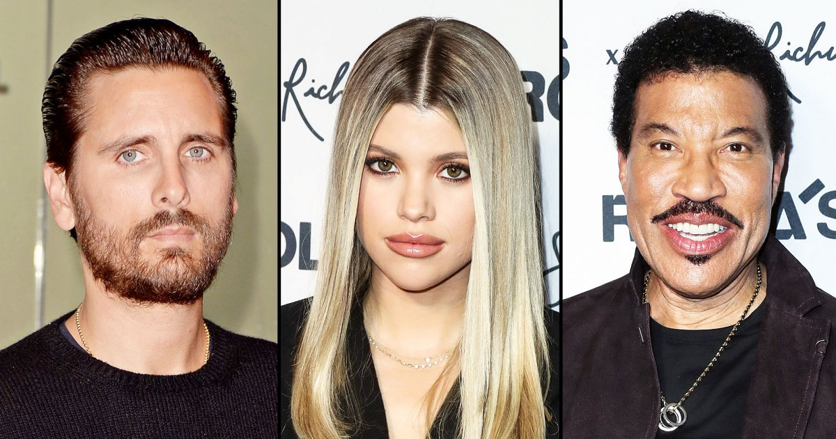 Scott Disick Parties With Sofia Richie, Lionel Richie Amid Breakup Rumors