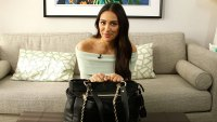 Shay Mitchell Reveals Inside Her Diaper Bag