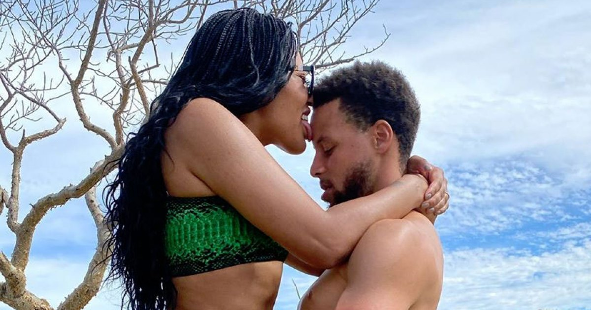 Steph and Ayesha Curry's Rare Risque Photo Is Going Viral