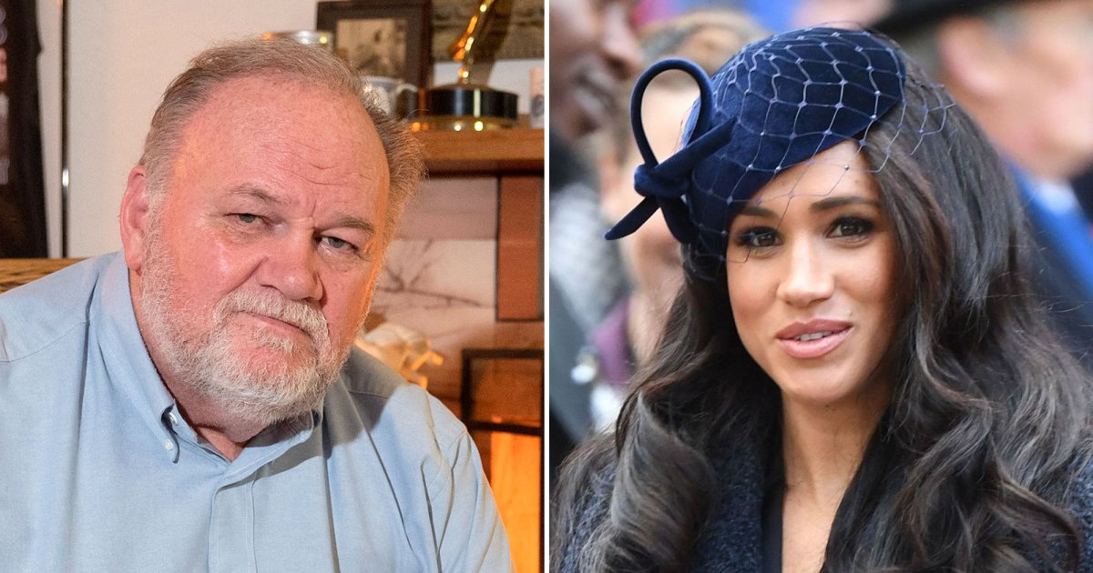 Thomas Markle Says Daughter Meghan Has 'Dumped Every Family'