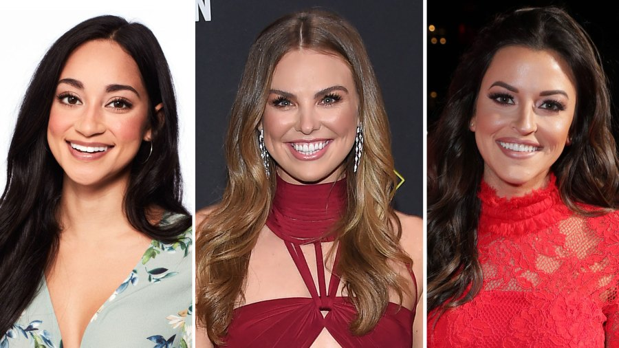 Victoria Fuller, Hannah Brown and Tia Booth The Next Bachelorette