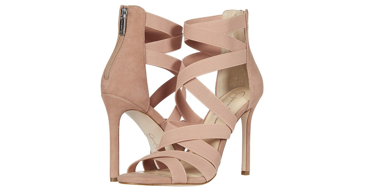 These Strappy Jessica Simpson Heels Will Change Your Life
