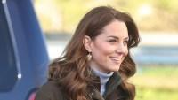 duchess kate middleton barbour coat