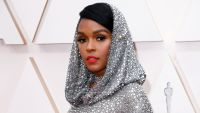 Janelle Monae attends the 92nd Annual Academy Awards in Los Angeles.