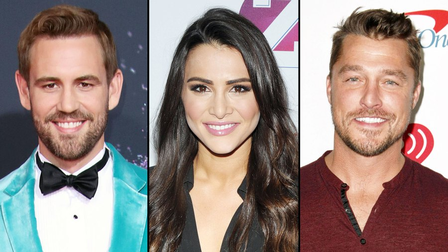 Andi Dorfman Jokes About Texting Her Bachelor Nation Exes Nick Viall and Chris Soules