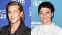 Brad Pitt Spotted Visiting In-N-Out Burger in LA With Pal Alia Shawkat