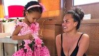 Chrissy Teigen Officiates Elaborate Wedding for Daughter Lunas Stuffed Animals