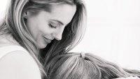 Eva Amurri Shares Breastfeeding Photo With Newborn Son
