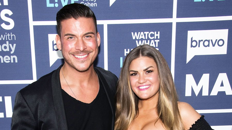 Jax Taylor and Brittany Cartwright Place Scale in Front of Their Refrigerator to Prevent Weight Gain While Quarantined