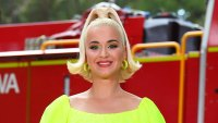 Katy Perry Maternity-Style Neon Dress March 10, 2020