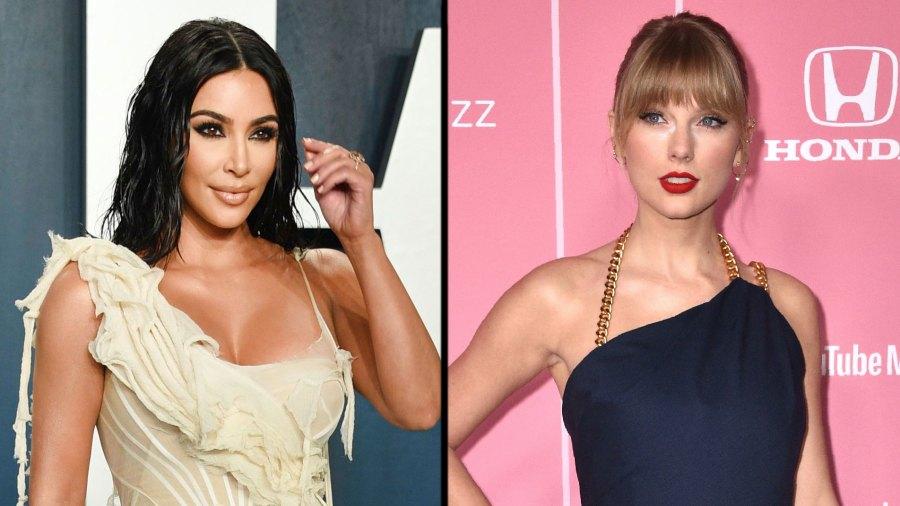Kim Kardashian and Taylor Swift Cryptically Respond to 'Famous' Video Leak