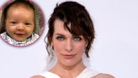 Milla Jovovich Shares Sweet New Pics of 8-Week-Old Osian