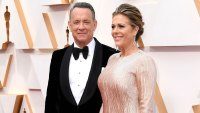 Tom Hanks and Rita Wilson Academy Awards Arrive Back in LA Coronavirus