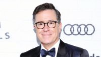 Watch Stephen Colbert Use His Wifes Makeup to Return Face to Normal