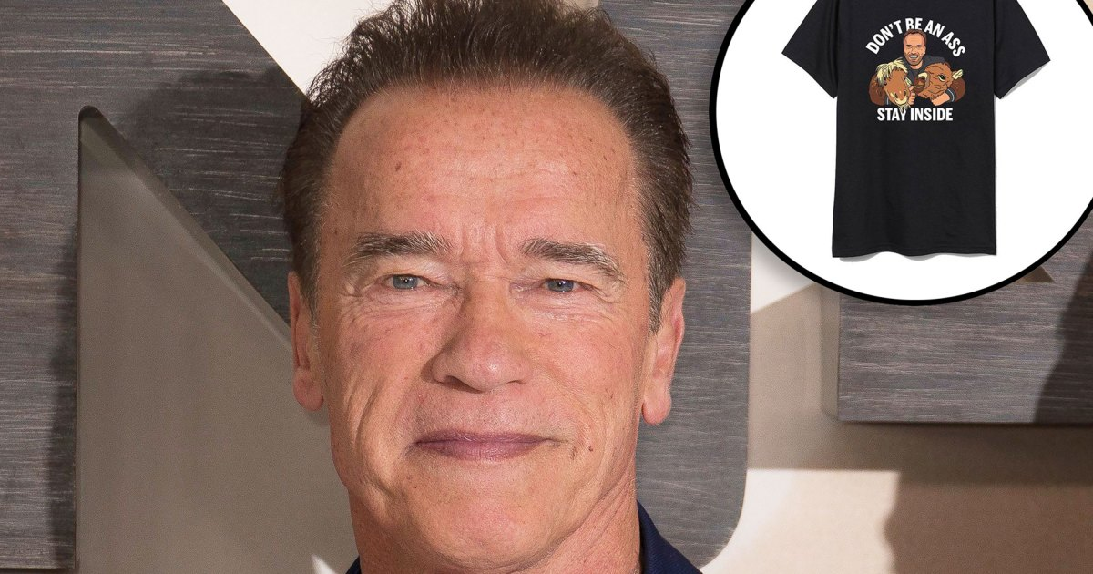 Arnold Schwarzenegger Unveils Merch Inspired by His Famous Farm Animals