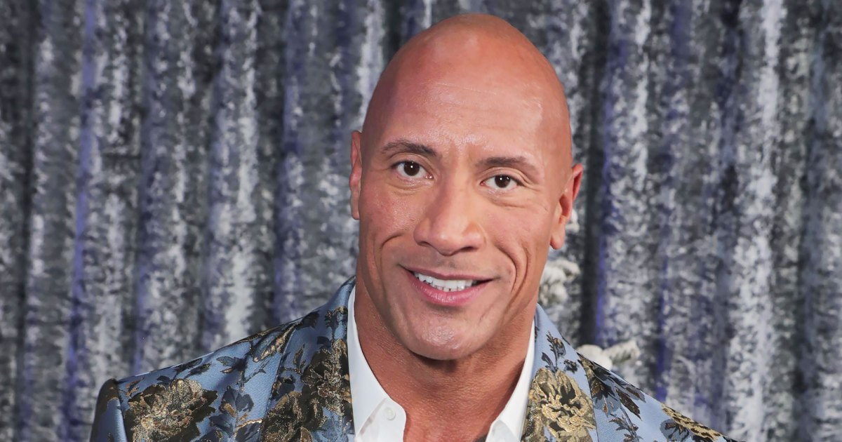 The Rock's Pre-Shower Ritual Is Too Cute — and Hot!