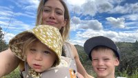 Hilary Duff Son Luca Locks Little Sister Banks in Dog Crate During Quarantine