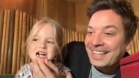 Jimmy Fallon's Daughter Winnie Crashes His Show to Debut Missing Tooth