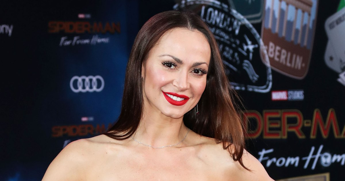 His Debut! Karina Smirnoff Shares 1st Pic of Newborn Son, Reveals Name
