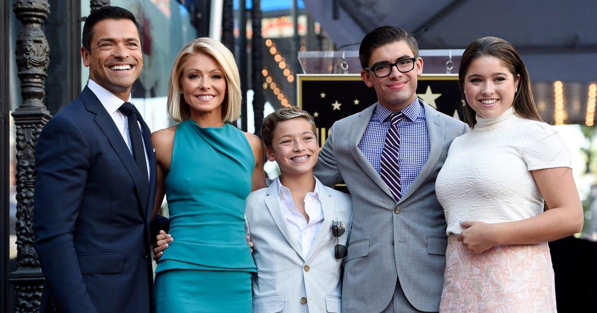 Kelly Ripa Cries Explaining Why Her Kids Won't Hug Her Amid Quarantine