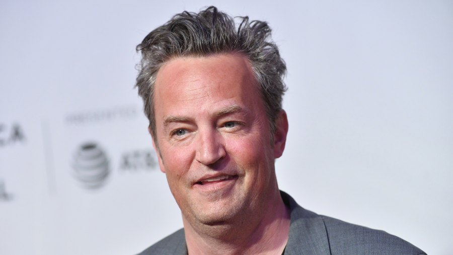 Matthew Perry Bakes Cookies in Quarantine